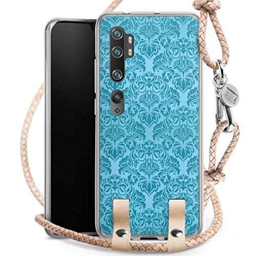 DeinDesign Carry Case kompatibel mit Xiaomi Mi Note 10 Hülle mit Kordel aus Leder Handykette zum...