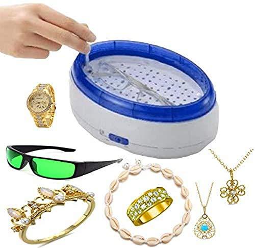 Inicio Limpiador ultrasónico USB, joyería Generador de Gafas Limpieza Reloj Tina Tanque Portátil Mini Lavadora Lavadora de Gafas