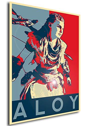 Instabuy Poster - Propaganda - Horizon Zero Dawn - Aloy A4 30x21