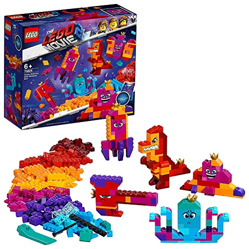 Lego 6250810 Lego The Lego Movie 2   Lego The Lego Movie 2 Koningin Wiedanook Watdanook'S Bouw Iets Doos.- 70825, Multicolor