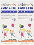 Natrabio Children's Cold & Flu Relief, 1-ounce (Pack of 2)