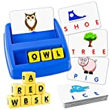 Little Treasures Matching Letter Game, Teaches Word Recognition, Spelling &...