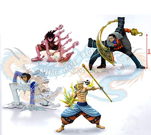 One Piece Super Effect Figure Vol.2 powers to all four sets (japan import)