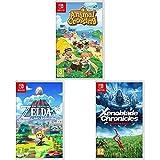 Animal Crossing: New Horizons + Zelda Link's Awakening Remake + Xenoblade Chronicles: Definitive...