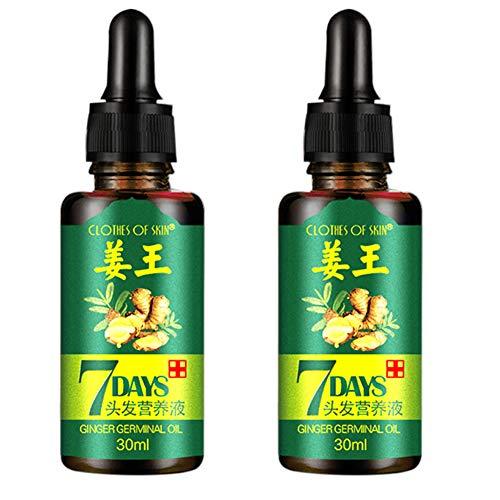 Ardorlove Hair Loss Treatment Ginger Hair Growth Serum For Thicker Healthier Hair, Jiang Wang, Nutritional Fluid Fixation Hair Anti-Hair Loss Shampoo Chinese Herbal Growth To Prevent Hair Loss