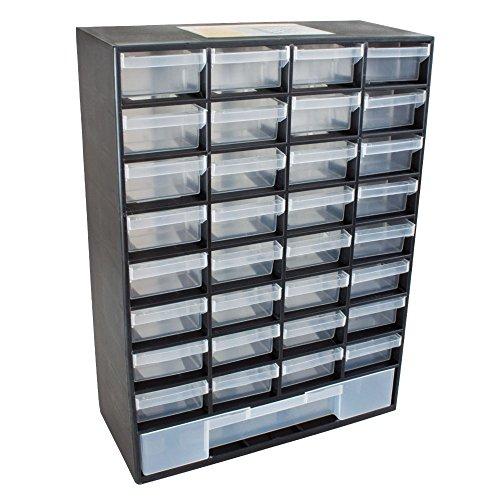 Pro TackleSortimentsbox mit 33 Schubladen (Kleinteilemagazin für Jigkö
