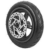 Elektroroller Reifen mit Nabe Elektroroller Hinterrad und 120 Scheibenbremse Luftreifen-Hinterrad Ersatzluftloser Reifen Kompatibel mit XIAO-MI PRO Elektroroller