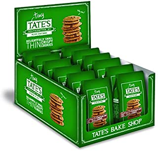 Tate's Bake Shop Thin & Crispy Cookies, Tiny Tate's Chocolate Chip, 1 Oz, 24Count
