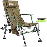 GG-Fishing chair Silla de Pesca Multiusos Silla reclinable reclinable Plegable Silla de Pesca al Aire Libre en Cuclillas
