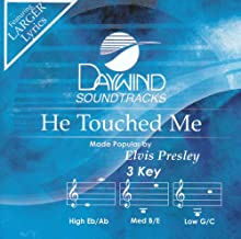 He Touched Me Accompaniment/Performance Track