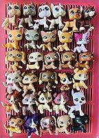 Love Pets LPS ファミリー 31個 lps ショートヘア 猫 ダクンスフント コリー グレートデーン コッカースパニエル lps アクセサリー 首輪リボン キッズギフト