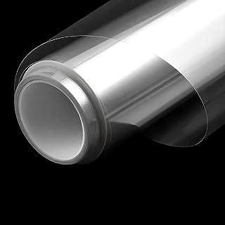 窓ガラスフィルム 透明 建築建物ガラスフィルム 厚さ0.05mm 可視光透過96% カット飛散防止フィルム 防災 地震 防災フィルム 窓 安全フィルム 2mil(45cm X 2m)