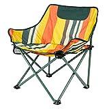 Backpacking Chair Outdoor Camping Stuhl, kompakte tragbare Klappstühle mit Getränkehalter und Seitentaschen Packable Lightweight Heavy Duty für Camping Backpacking Wandern, Indoor oder Outdoor