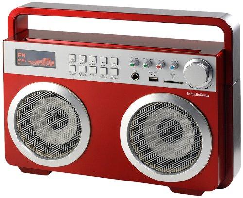 AudioSonic RD-1558 Soundblaster Radio, rot