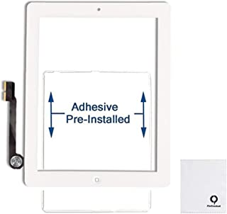 FixCracked Touch Screen Replacement Parts Digitizer Glass Assembly for Ipad 4 (White)