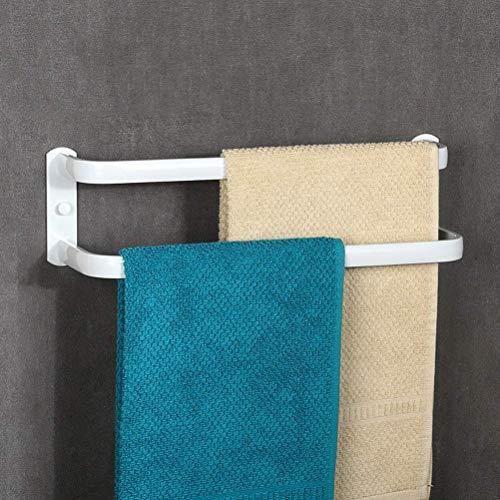 SBDLXY Toallero de baño montado en la Pared, Espacio de Desplazamiento Multicapa Toallero de Aluminio, Porta Toallas de baño Negro Cocina de Hotel de Triple Capa
