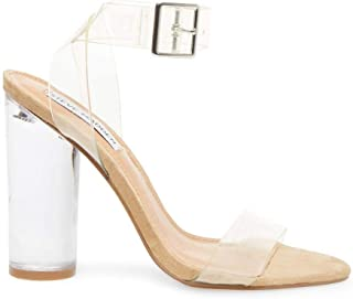 camille clear sandal steve madden
