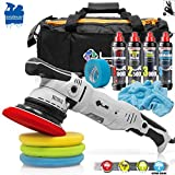 detailmate Auto Politur Set - Liquid Elements T4000 V2 Exzenter Poliermaschine + Menzerna Politur...