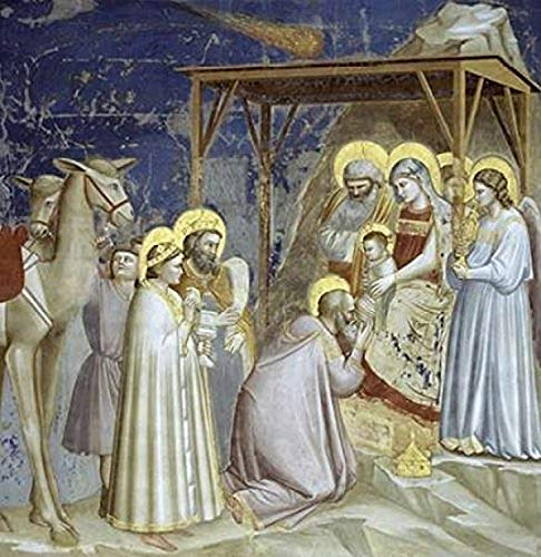 Posterazzi Adoration of The Magi Poster Print by Giotto, (12 x 12)