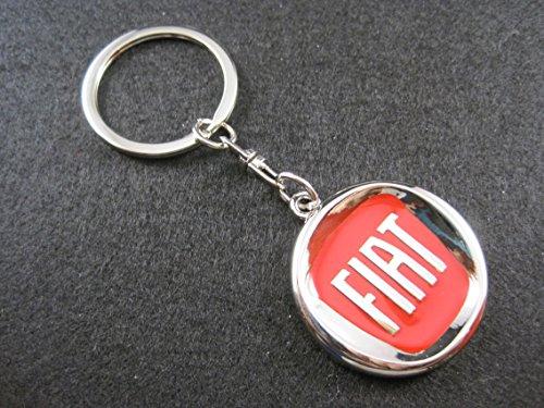 Llavero de metal compatible con Fiat lla001-16