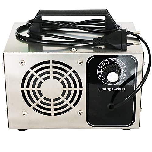ATWFS Generador de Ozono, 48,000 MG/h 60,000 MG/h Purificador de Aire Industrial Desodorante de ozono con Temporizador de 60 Minutos, Limpia más de 300㎡ (48000 MG/H)