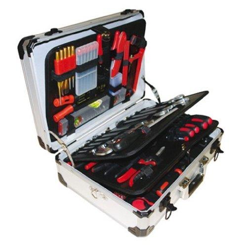 VINTEC VT 128 Werkzeugkoffer mit Profi...