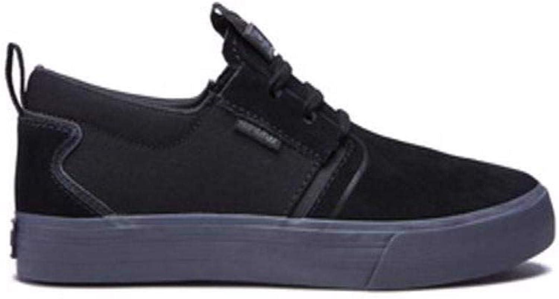 Supra herr Flow skor, svart -DK grå, 10.5 10.5 10.5  bra pris