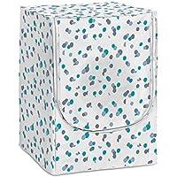 Rayen Medium Carga Frontal   Funda para Lavadora y Secadora con Cremallera   84 x 60 x 60 cm, Azul