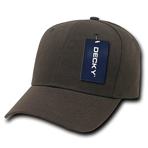 Plain Hats Uni Pro Chapeaux Casquette de Baseball, Homme, Pro, Marron, n/a