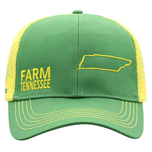 John Deere Farm State Pride Cap-Green and Yellow-Tennessee