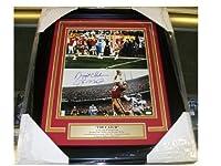 Joe Montana Dwight Clark The Catch Autographed Reprint Framed 8x10 Photo 49'ers - Autographed NFL Photos