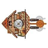 Alemán Black Forest Cuckoo Clock Swing Ejecutivo Juguetes Educativos Hotsale Retro Estilo Nórdico Pared Alarma Niños Tiempo de Madera Tiempo Pájaro Bell
