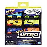 Hasbro Deutschland GmbH HAS41711 Nerf Nitro Soft Racer 6Er Pack Cup and Ball Game