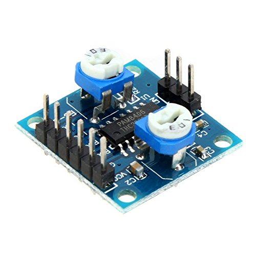 SODIAL(R)Mini Digital Amplificador Junta Placa Audio Control de Volumen Modulo Amplificador Modulo Sin Ruido 5W * 2