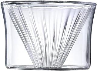 Baoblaze Simple Filtre À Café en Verre Café Goutteur Amovible 1-2 Tasses Café Cruche sans BPA Résistant à La Chaleur Baris...
