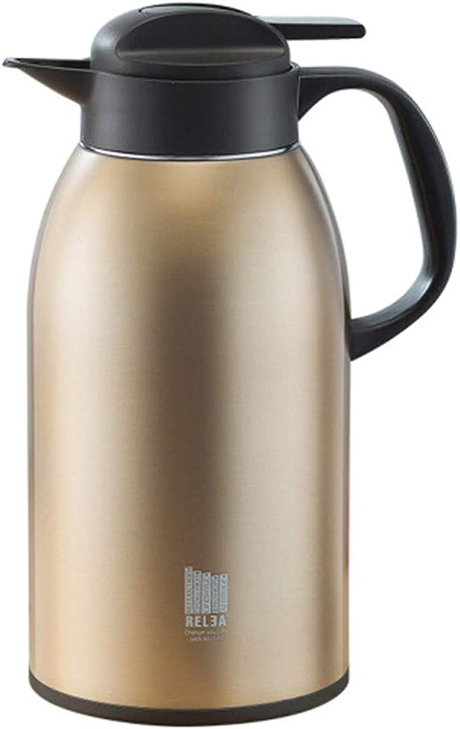 Hengxiang 2.5L Large Capacity Stainless Steel Household Coffee Carafe Thermos Travel Termoses