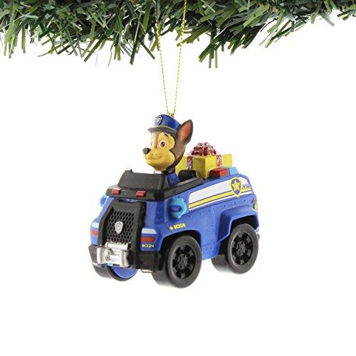 Nickelodeon Paw Patrol Kurt Adler Ornaments Gift Boxed (Chase Truck)