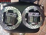 COPPIA DISCO FRENO ANT RMS + PASTIGLIE PER YAMAHA T-MAX 500 2008/2011 225162350
