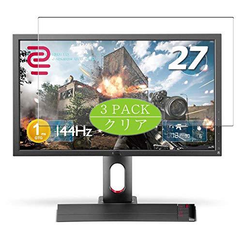 VacFun 3 Piezas HD Claro Protector de Pantalla Compatible con BenQ XL2720Z 27' Display Monitor, Screen Protector Película Protectora(Not Cristal Templado)