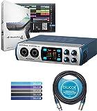 PreSonus STUDIO 26 2x4 Portable USB Audio Interface Bundle with Studio One Recording Software, Studio Magic...