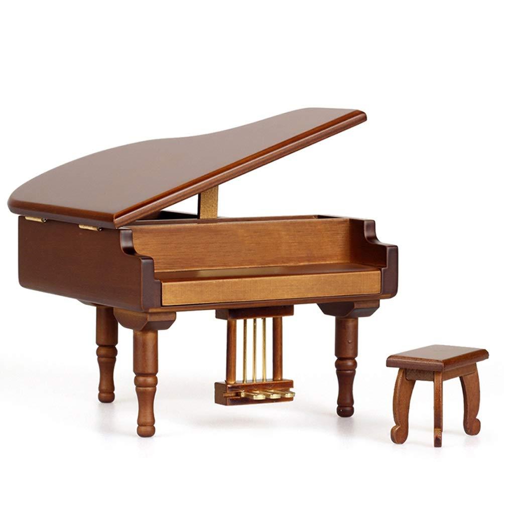 Xiix Caja de música de bebé Caja de música Retro Antigua Piano Dancing Girls Caja de música giratoria Vintage mecánica clásica Encantadora Bailarina Regalo (Color : Castle in The Sky): Amazon.es: Hogar