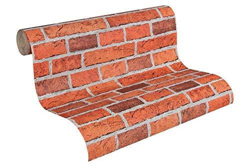 AS Création 779816 Papel pintado Stone Brick Decor (Importado de Alemania)