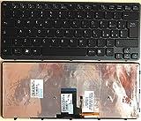Infoelettronica Tastiera Italiana RETROILLUMINATA Compatibile con Sony VPC-CA 9Z.N6BBF.A0E 148953961 SDABF 148953951 Serie