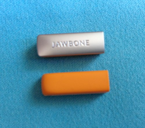 2pcs Replacement Orange End Caps Covers for Jawbone UP 2 2nd Gen 2.0 Bracelet Band Cap Dust Protector (not for the 1st Gen)