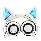 Casque Bluetooth sans fil avec microphone et contrôle du volume, casque oreilles de...
