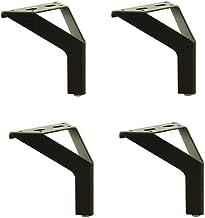 4X Meubelpoten Metalen Benen Sofa Benen Vervanging Poten, Super Lading-Lager, Stabiel en Duurzaam Inclusief Accessoires vo...