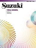 Suzuki Viola School Viola Part, Volume 4