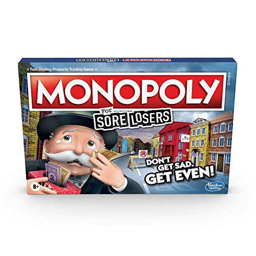 Hasbro Monopoly For Sore Losers [Board Game]