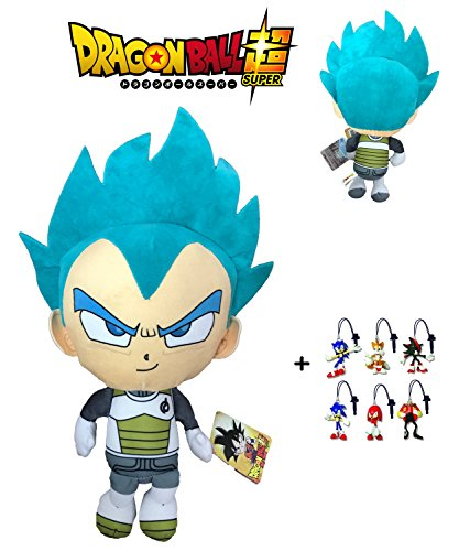 PBP Dragon Ball Super - Peluche Vegeta Ultra Instinto, Pelo