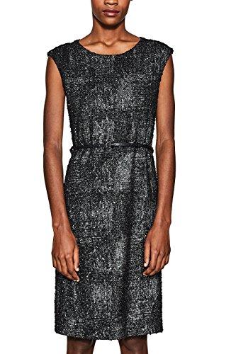 ESPRIT Collection Damen 127EO1E008 Partykleid, Schwarz (Black 001), Large